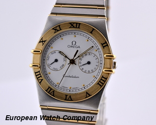 Omega Constellation Day-Date Quartz 18K / SS