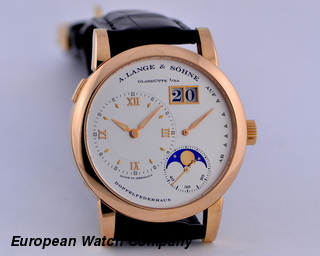 A. Lange and Sohne Lange 1 Moon 18K RG