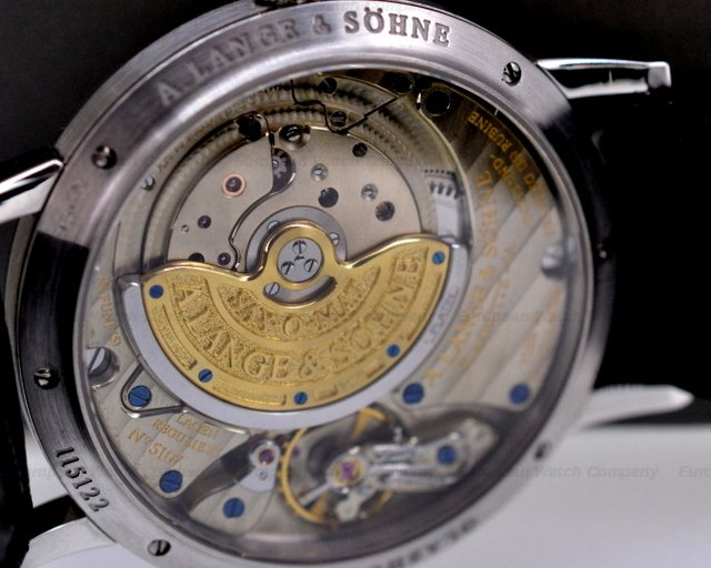 European Watch Company A Lange And Sohne Langematik Sax