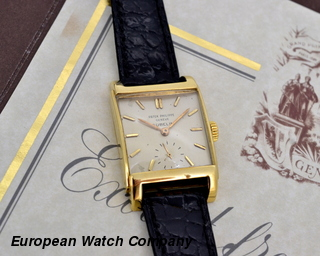 "Patek Philippe Rectangular ""Bombe""