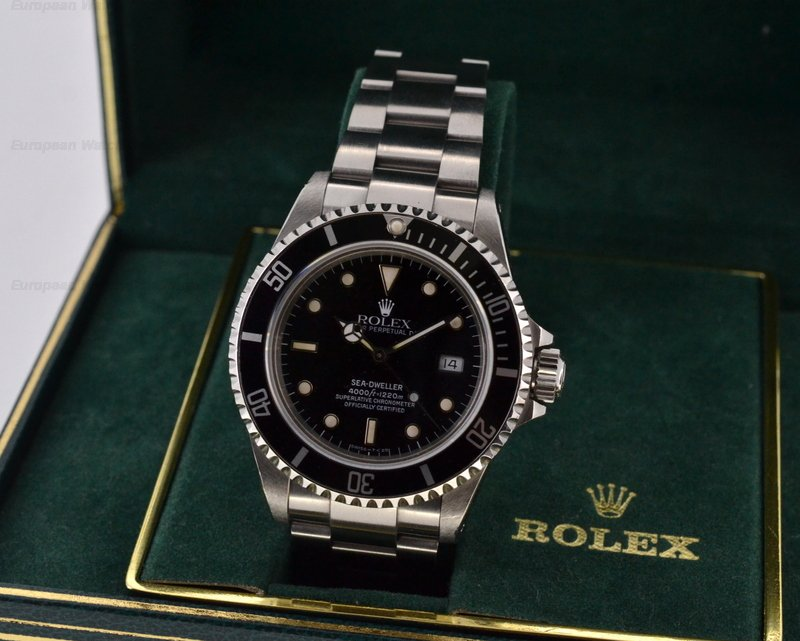 European Watch Company: Rolex Sea Dweller SS / SS