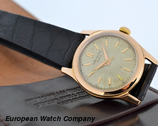 Patek Philippe Vintage 18K Rose Gold Manual Wind / Screw Down / Dust Cover