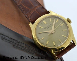 Patek Philippe Vintage Calatrava 18K Yellow Gold Manual Wind / Champagne Dial
