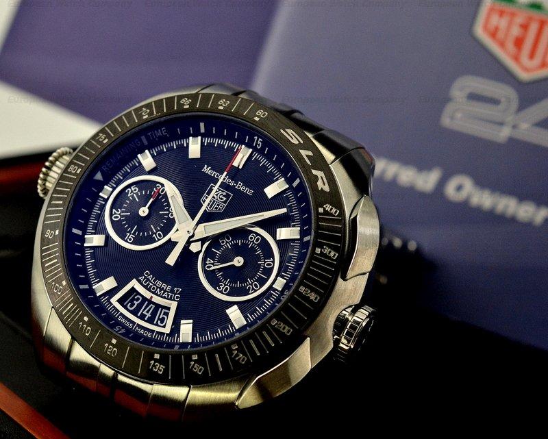 European watch company tag heuer mercedes benz slr for Tag heuer mercedes benz slr