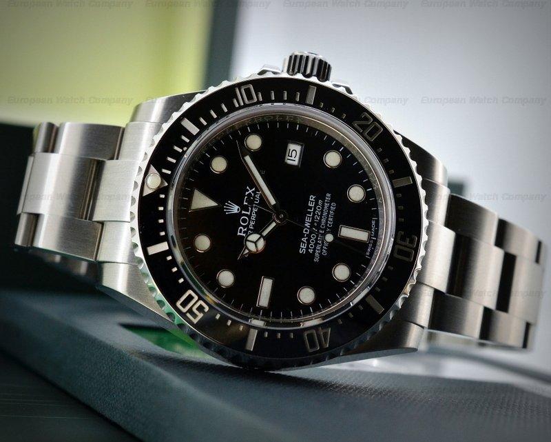 European Watch Company: Rolex Sea Dweller 4000 SS / SS NEW ...