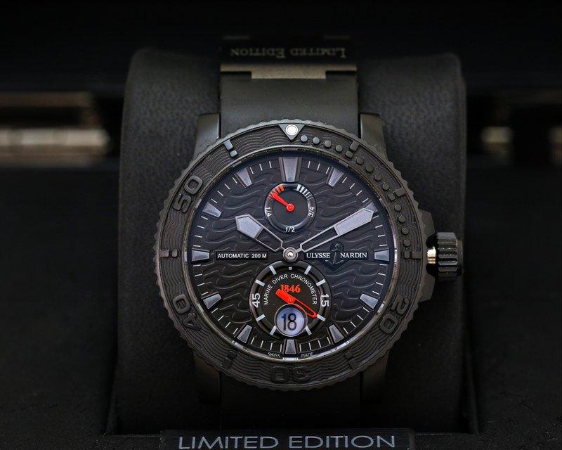 european company ulysse nardin maxi marine diver black limited