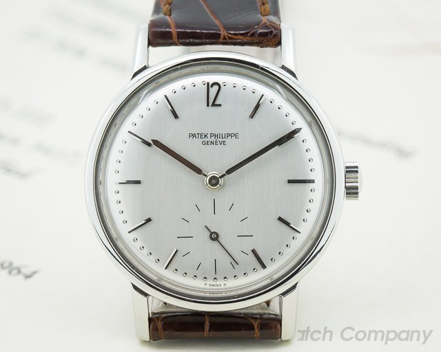 "Patek Philippe Vintage 3417 Anti Magnetic ""Amagnetic"" Stainless Steel"