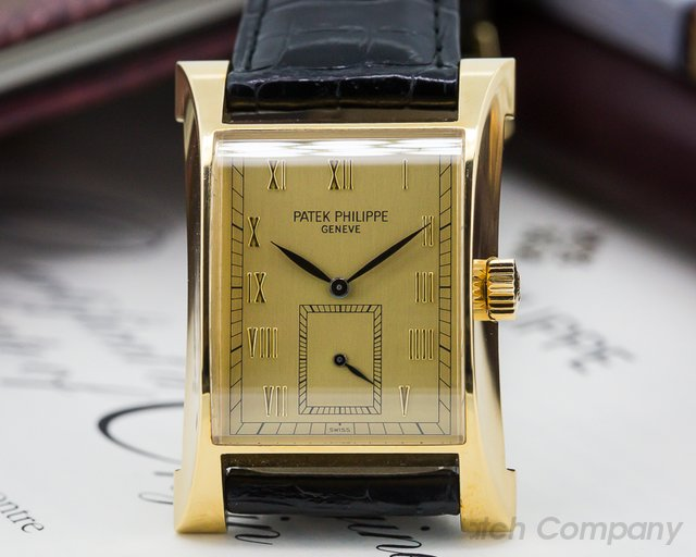 Patek Philippe Pagoda 18K Yellow Gold / Gold Dial