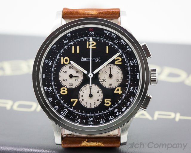 Eberhard Aviograf SS MINT Box and Papers