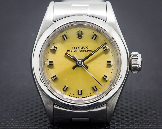 Rolex 6618 Lady Oyster Perpetual SS