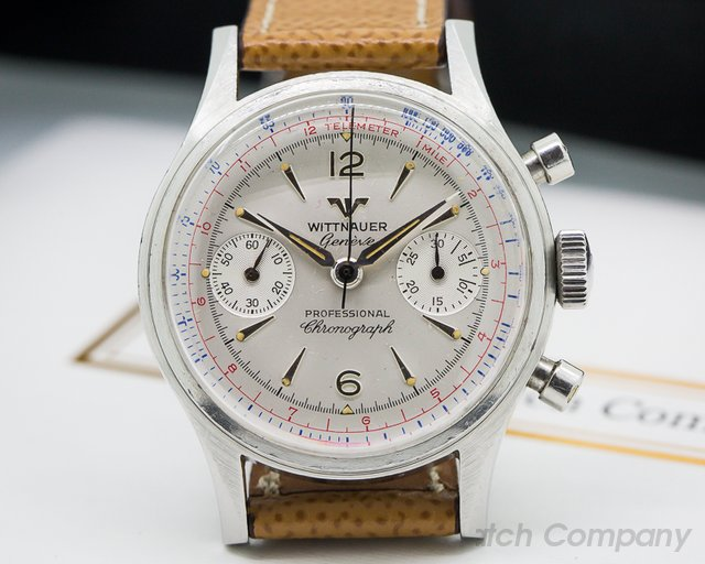 Wittnauer Vintage Manual Chronograph SS