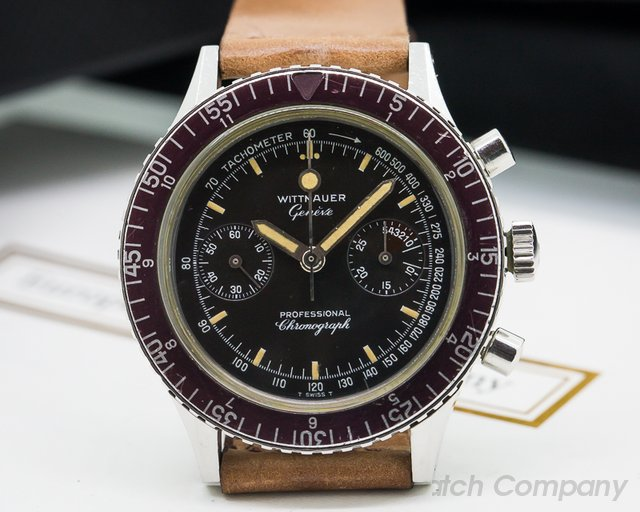 Wittnauer Vintage Professional Chronograph SS