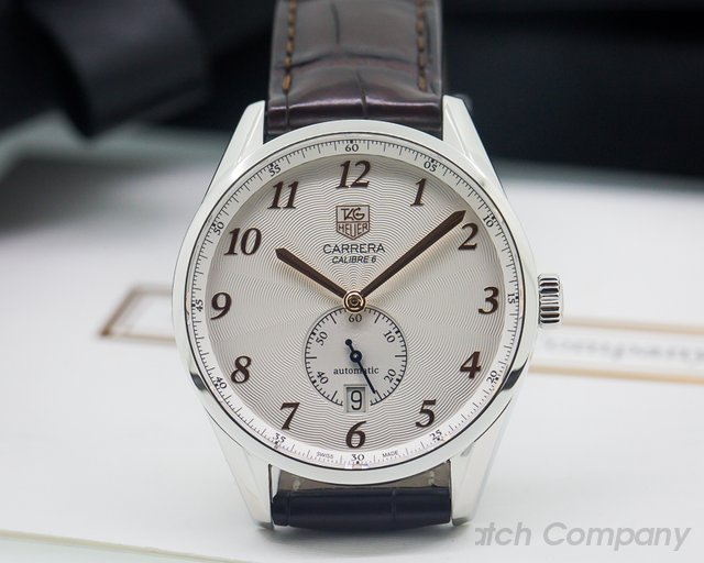 TAG Heuer Carrera Heritage Silver Dial Automatic SS