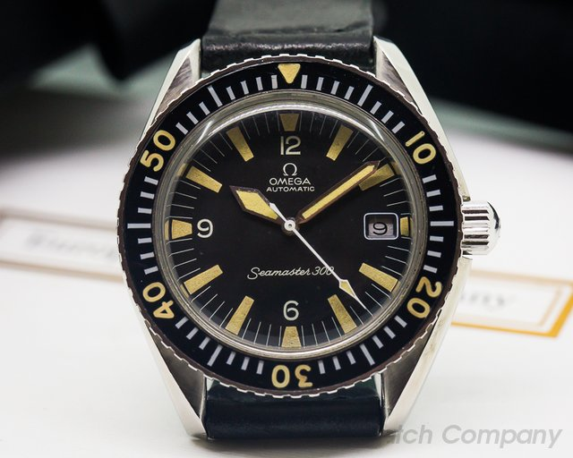 Omega Vintage Seamaster 300 SS / Leather