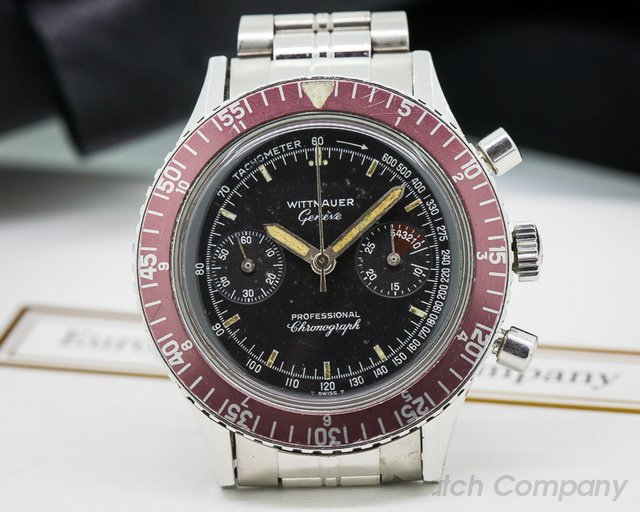 Wittnauer Vintage Professional Chronograph SS / SS