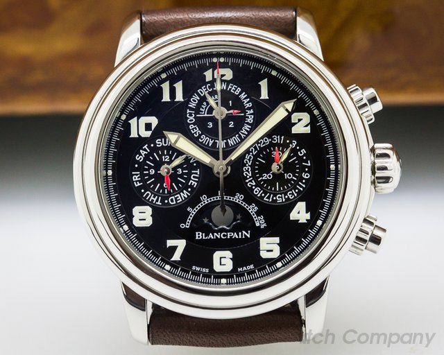 Blancpain Perpetual Calendar Flyback Chronograph SS