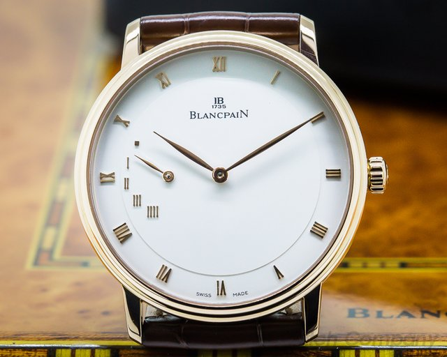 Blancpain Villeret Power Reserve Rose Gold