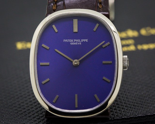 Patek Philippe Ellipse 18K White Gold Manual Wind