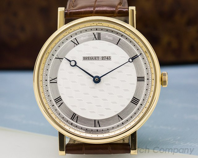 Breguet Classique Manual Wind 18K Yellow Gold 41MM