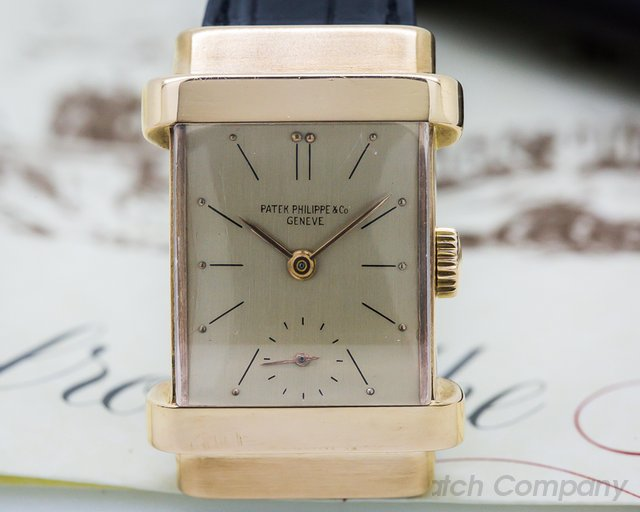 Patek Philippe 1450 Top Hat 18K Rose Gold