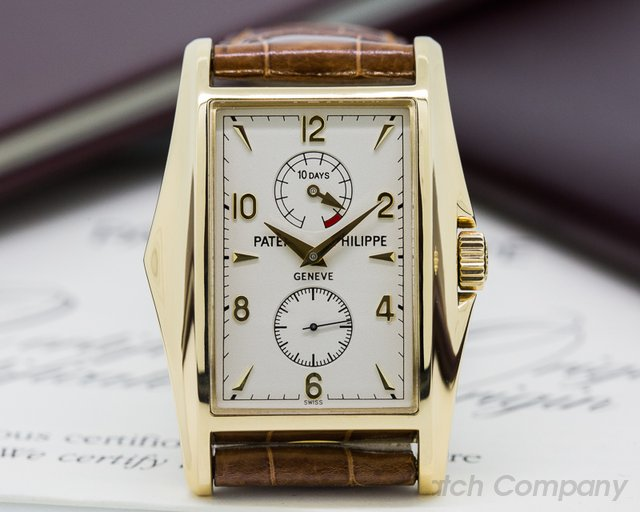 Patek Philippe 10 Day Power Reserve 18K Yellow Gold