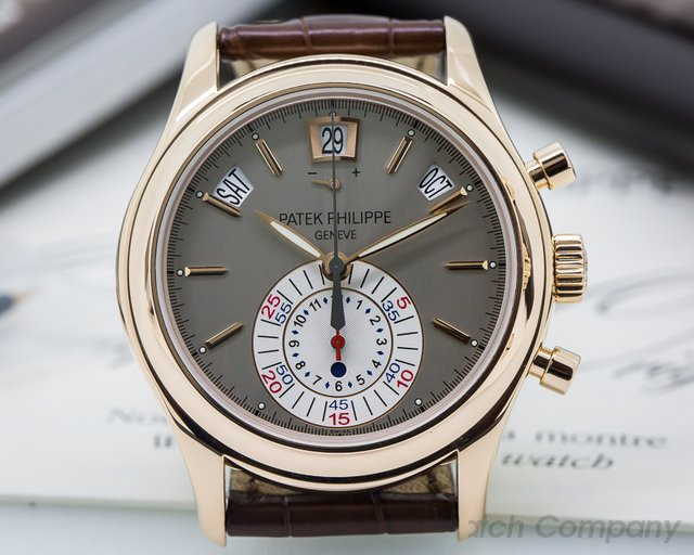 Patek Philippe Annual Calendar Chronograph 18K Rose Gold