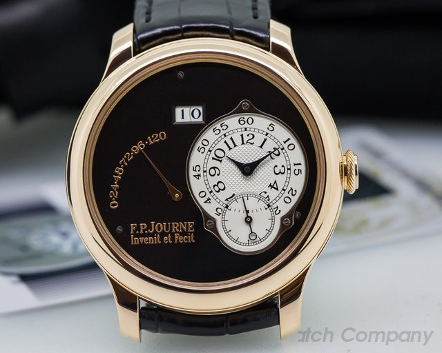 F. P. Journe Octa Reserve de Marche  BLACK DIAL BOUTIQUE ONLY Rose Gold