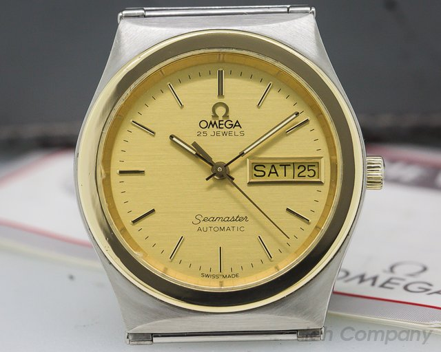 Omega Constellation Seamaster Day Date 18K / SS