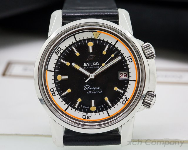 Enicar Vintage Sherpa Ultra Dive SS