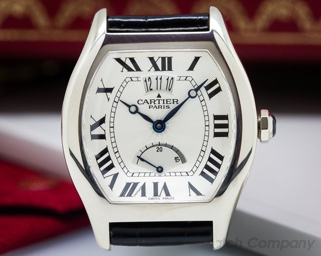 Cartier Collection Privee Tortue White Gold Limited