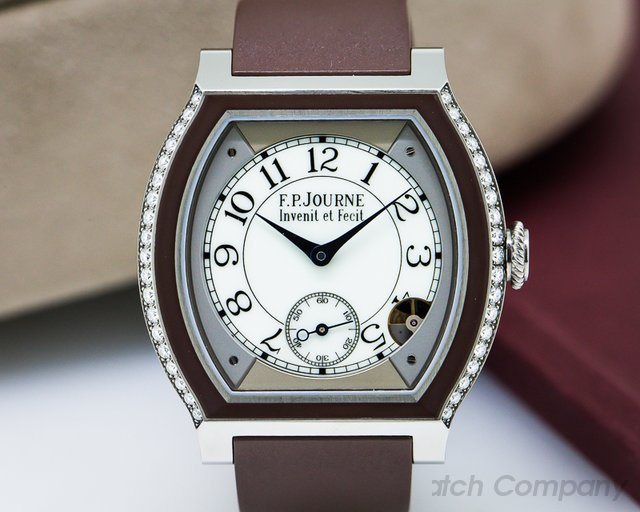 F. P. Journe Elegante Ladies Quartz with Diamonds Ti / Rubber