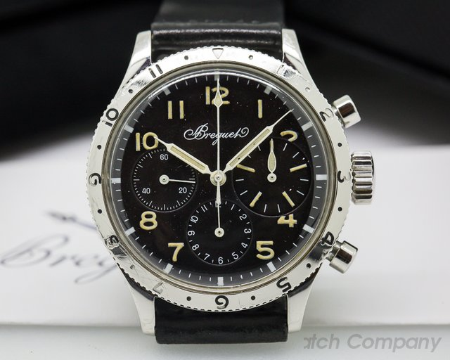 Breguet Vintage Civilian Type XX Pilot Flyback 3 Register Chronograph