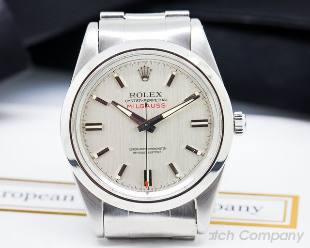 Rolex Vintage Milgauss Silver Dial SS / SS