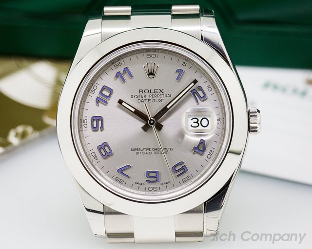 Rolex Datejust II SS Silver Dial