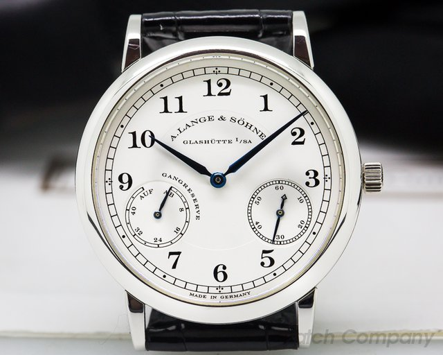 A. Lange and Sohne 1815 Up & Down Platinum