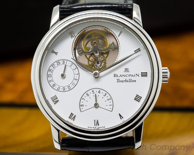 Blancpain Tourbillon SS Manual Wind 34MM