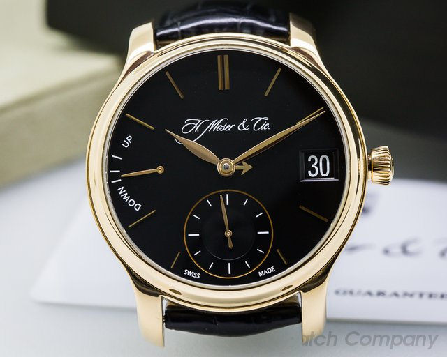 H. Moser & Cie Endeavour Perpetual Calendar 1 18k Yellow Gold
