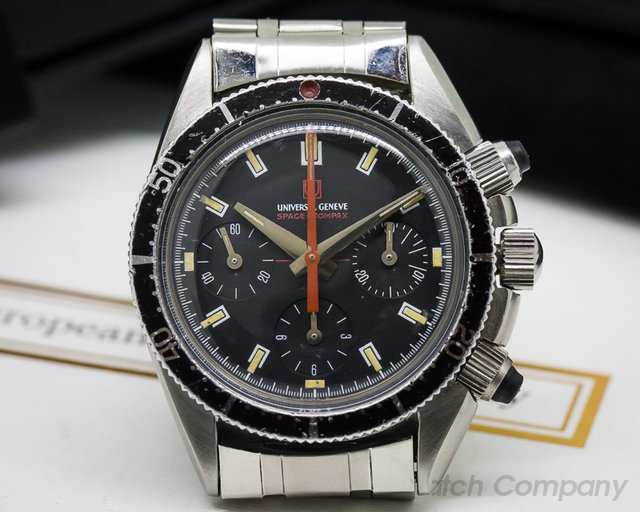 Universal Geneve Vintage Space Compax MK2 SS / SS