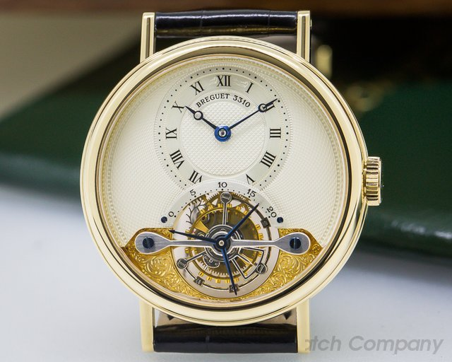 Breguet Tourbillon 18K Yellow Gold
