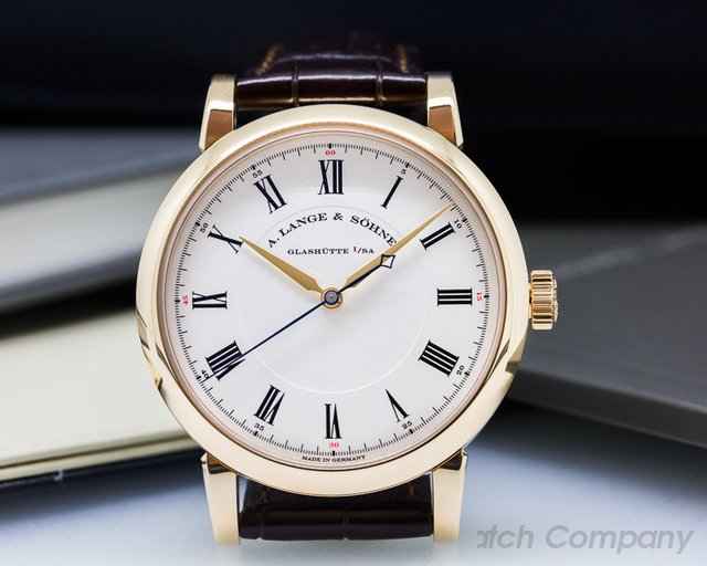 A. Lange and Sohne Richard Lange 18K Rose Gold UNWORN