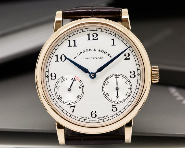 A. Lange and Sohne 1815 Up & Down 18K Rose Gold UNWORN