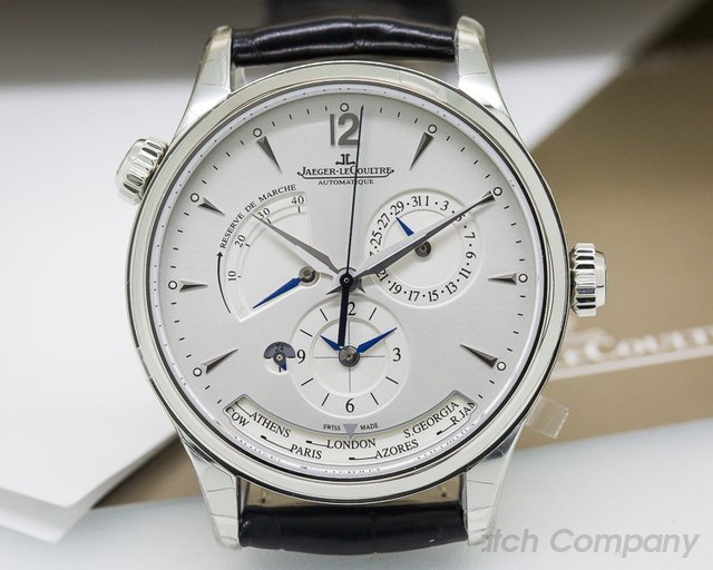 Jaeger LeCoultre Master Geographic SS 39MM UNWORN