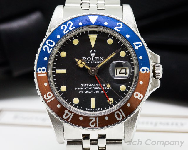 Rolex Vintage GMT Master FIRST SERIES Matte Dial Small Triangle