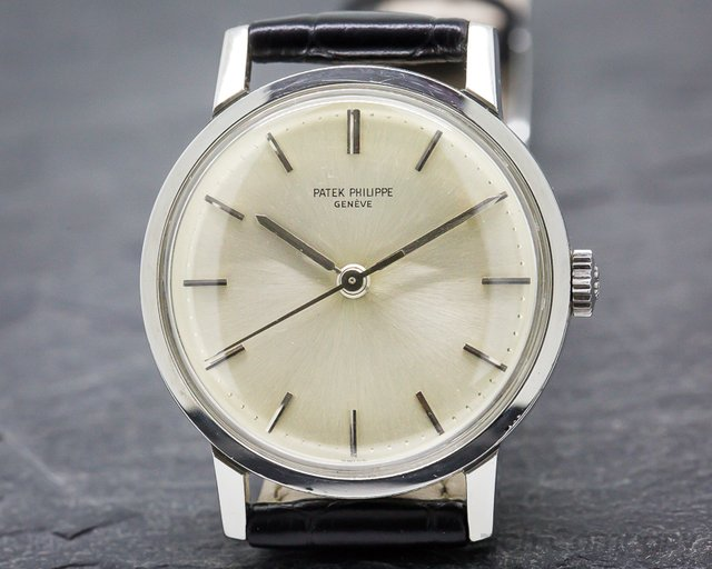 Patek Philippe Vintage Stainless Steel 3483 / Center Sweep Seconds
