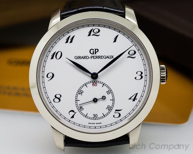 Girard Perregaux 1966 Automatic Small Seconds 40MM 18K White Gold