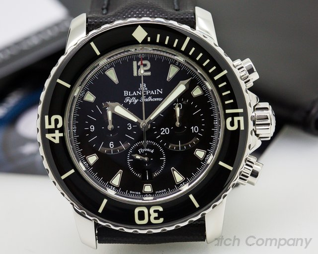 Blancpain Fifty Fathoms Chronograph SS / Kevlar