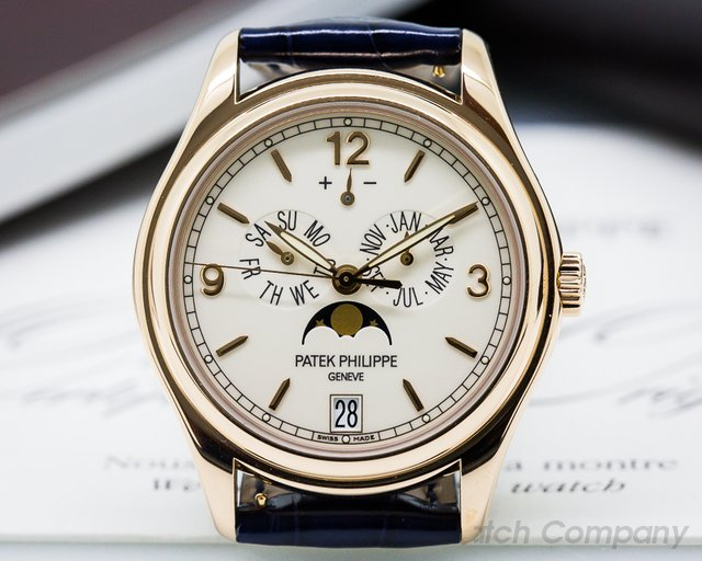 Patek Philippe Annual Calendar 18K Rose Gold