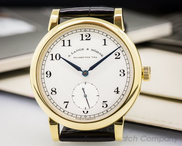 A. Lange and Sohne 1815 Yellow Gold Manual