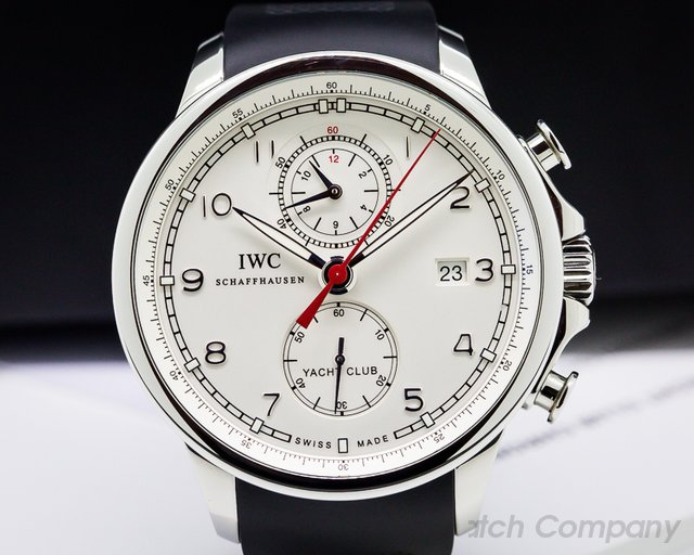 IWC Portuguese Yacht Club Flyback SS Silver Dial