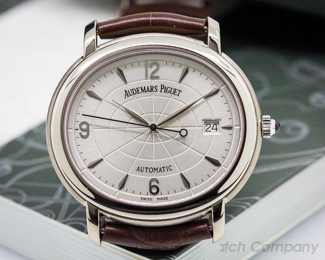 Audemars Piguet Millenary Automatic 18K White Gold / Deployant